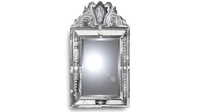 Miroir venitien design baroque betta un superbe miroir for Grand miroir baroque