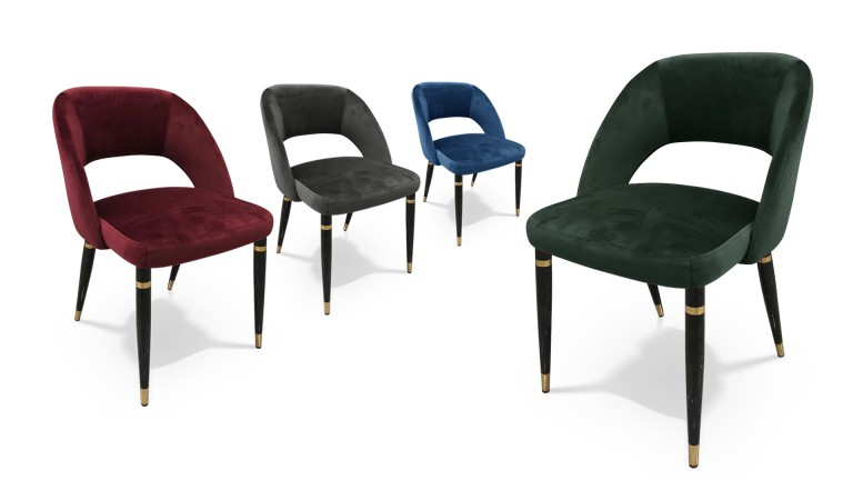 Nuances chaises retro velours leonie mobiliermoss