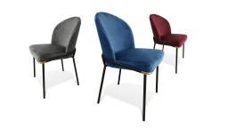 nuances chaises retro velours solange mobiliermoss