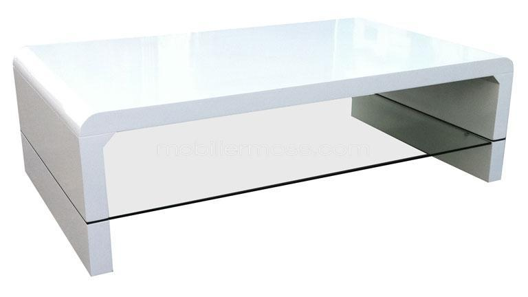 Conforama table basse laque blanc images - Table basse de salon blanche ...