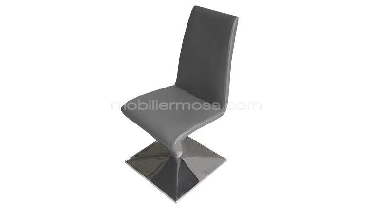 perly grise chaise