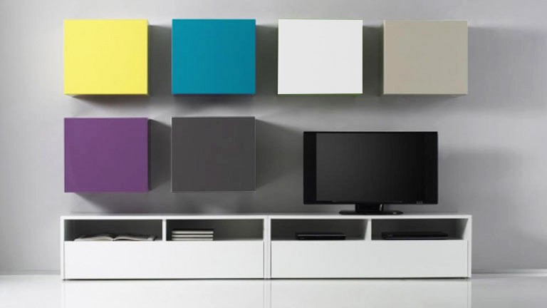 petits elements suspendus ox color tv mobilier moss