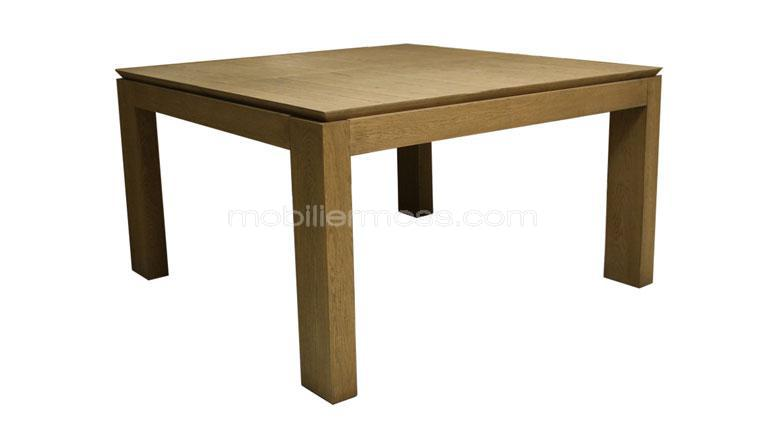 Salle manger carree avec rallonge for Table a manger carre extensible