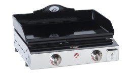 plancha fonte emaillee chassis inox prestige600 mobiliermoss