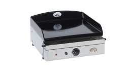 plancha fonte emaillee electrique forge adour chassis inox sukaldea 450 mobiliermoss