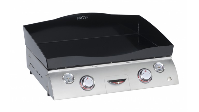 plancha fonte emaillee forge adour cahssis inox innova 650 mobiliermoss