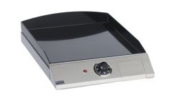 plancha fonte emaillee forge adour chassis inox indoor 540 mobiliermoss