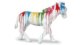 poney statue multicolore mobiliermoss