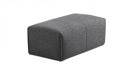 pouf composition modules tissus gris k21 ikalis mobiliermoss