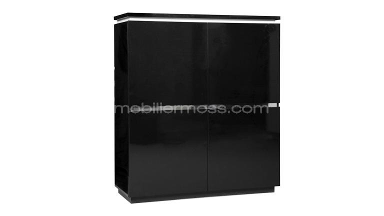 un bahut moderne et design le rangement armoire 2 portes design atract mobilier moss. Black Bedroom Furniture Sets. Home Design Ideas