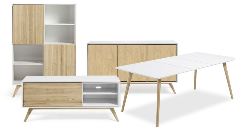 composez votre salle manger au design scandinave panzos mobilier moss. Black Bedroom Furniture Sets. Home Design Ideas