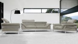 salon canape cuir shawn beige 721 mobiliermoss