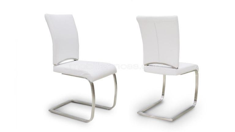 silly chaise blanche mobilier moss