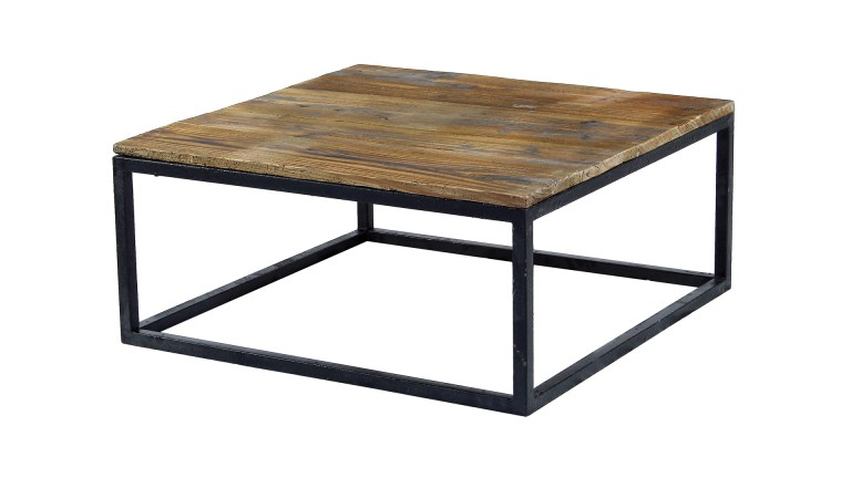 Table basse de salon vintage smoldy mobilier moss - Table basse design industriel ...