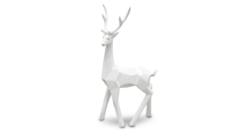 statue laque blanc cerf origami grand cote cerfy1 mobiliermoss