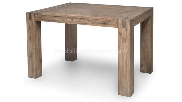 Habitatsoldeur tables chaises bars trouvez le for Table de sejour carree