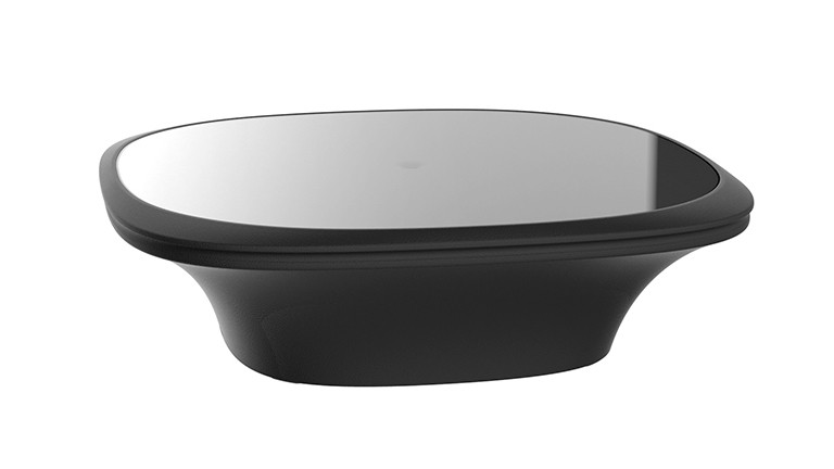 Table base design contemporain noir ufo mobiliermoss