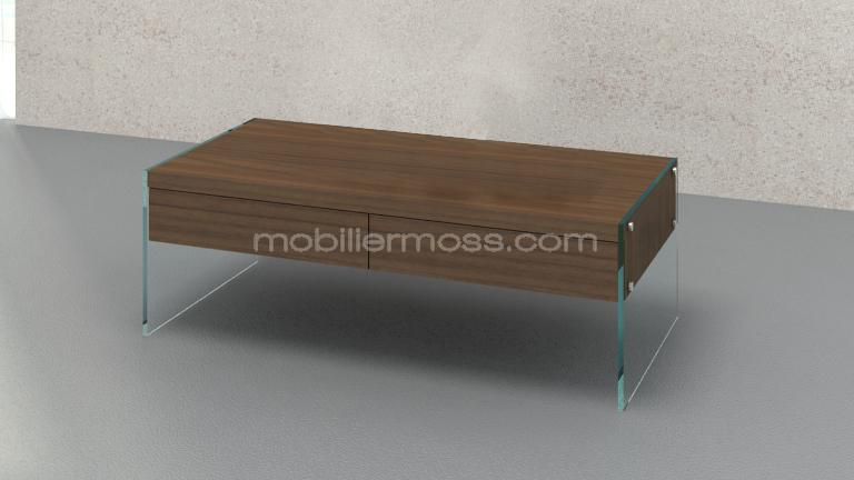 table basse contemporaine avec tiroir. Black Bedroom Furniture Sets. Home Design Ideas