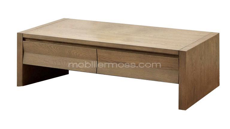 Table de salon en bois moderne for Table basse moderne bois