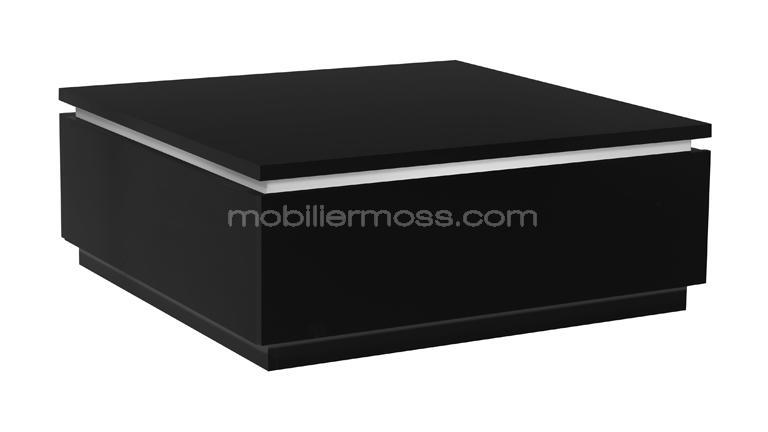 table basse moderne noire avec rangement atract mobilier moss. Black Bedroom Furniture Sets. Home Design Ideas