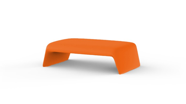 table basse design contemporain blow orange mobiliermoss