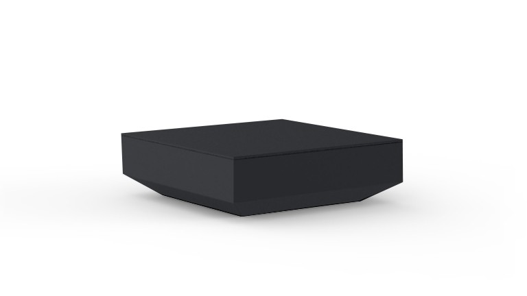 Table basse design contemporain noir Vela mobiliermoss