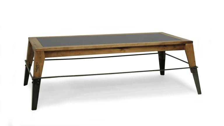 table basse industrielle 2 plymouth mobiliermoss