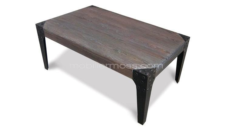 Chicago Table Industrielle Vintage Table Basse 4jR35LqA