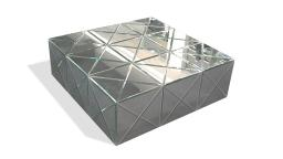 table basse miroir angy design mobilier moss