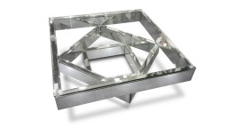 table basse miroir verre transparent fizuli mobiliermoss