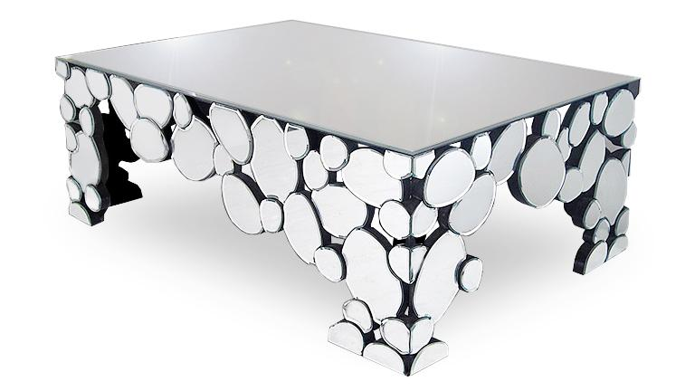 table basse miroirs multifacettes alby mobiliermoss