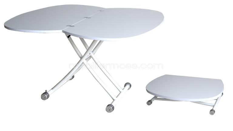 Table basse relevable magicia table basse repliable modulable mobilier moss - Table de salon pliante ...