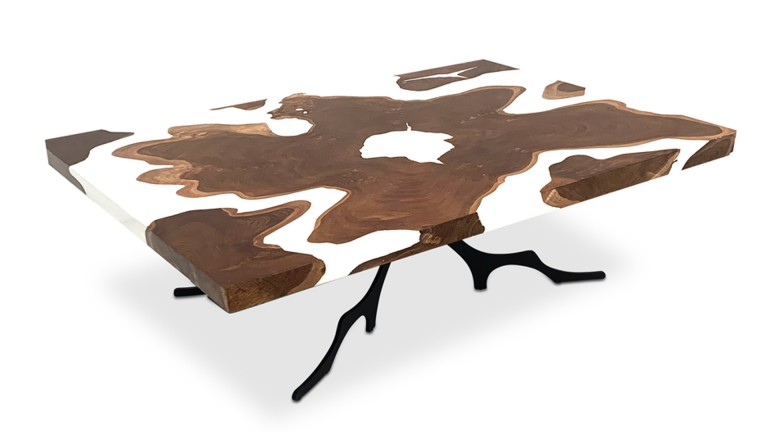 table basse resine epoxy bois mobiliermoss