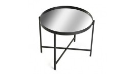 table basse ronde miroir ystaad mobiliermoss