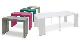 table console modulable extensible design 5coul clodia mobiliermoss