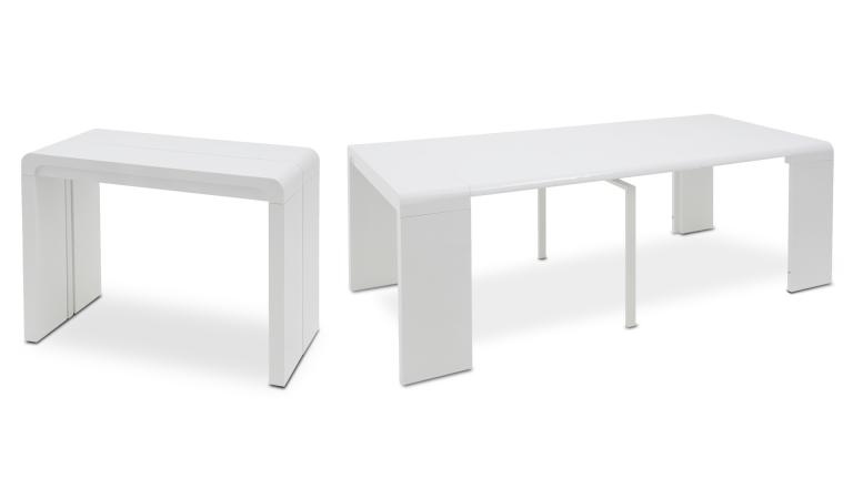 Meuble console transformable table - Table console modulable ...