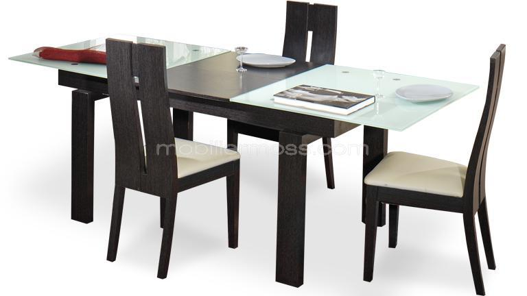 table salle a manger rouge avec des id es. Black Bedroom Furniture Sets. Home Design Ideas