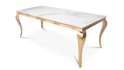 table manger dor e plateau marbre blancmobilier moss Betty