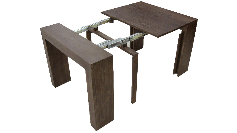Table rabattable cuisine paris table salon transformable Table cuisine modulable