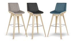 tabouret de bar design mobiliermoss style scandinave en exclusivit mobilier moss. Black Bedroom Furniture Sets. Home Design Ideas