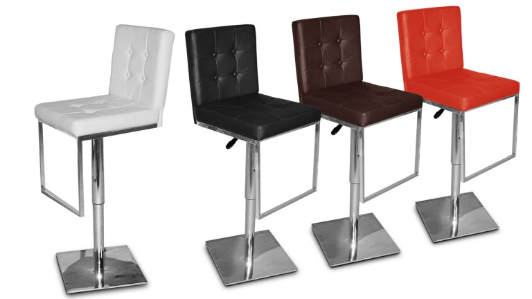 tabouret bar couleurs similicuir zib mobiliermoss