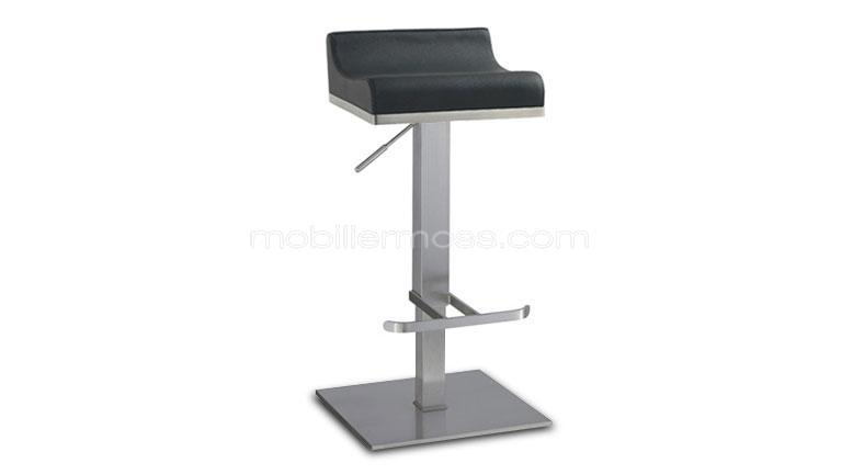 tabouret bar noir208 metal dallas mobiliermoss