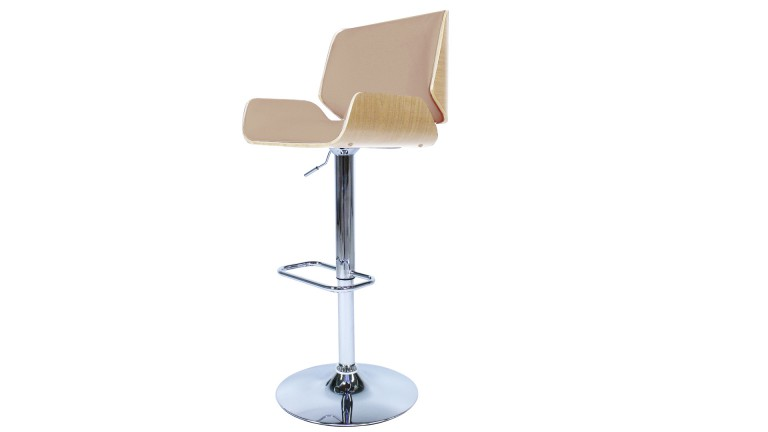 Tabouret De Bar Reglable En Hauteur.Tabouret De Bar Cuisine Design Hauteur Assise 63 85 Braak