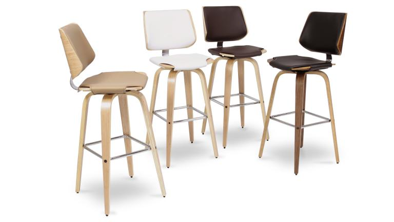 tabouret de bar design hambourg mobilier moss. Black Bedroom Furniture Sets. Home Design Ideas