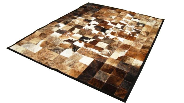 tapis peau de vache india craquez pour le patchwork chez. Black Bedroom Furniture Sets. Home Design Ideas