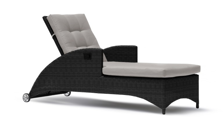 chaise longue moderne en r sine tress e avelorn mobilier moss. Black Bedroom Furniture Sets. Home Design Ideas