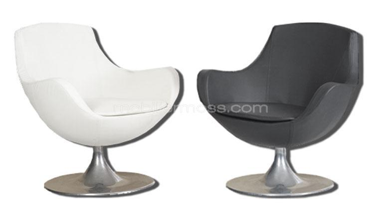 fauteuil pivotant aux courbes originales cid mobilier moss. Black Bedroom Furniture Sets. Home Design Ideas