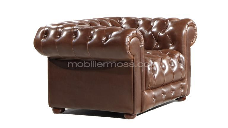 vente fauteuil style industriel chesterfield mobiliermoss