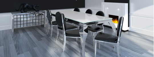 Table de salle a manger vente de table design mobilier for Table design 8 personnes