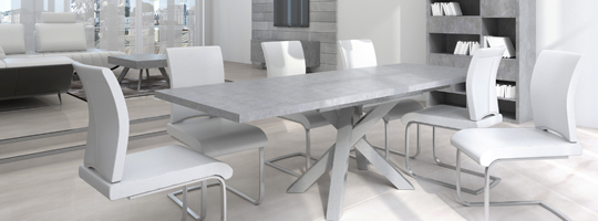 table beton mobiliermoss - Grande Table Salle A Manger